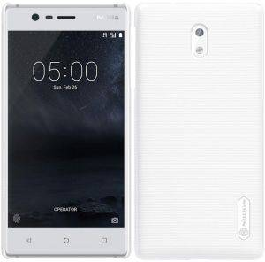 NILLKIN SUPER FROSTED SHIELD BACK COVER CASE FOR NOKIA 3 WHITE