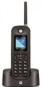 MOTOROLA O201 OUTDOOR DECT PHONE BLACK