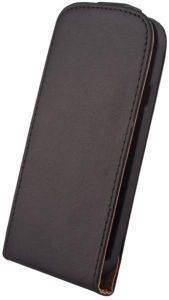 LEATHER CASE ELEGANCE FOR SAMSUNG N7100 GALAXY NOTE 2 BLACK