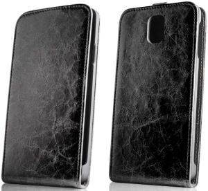 GREENGO LEATHER CASE EXCLUSIVE FOR SONY XPERIA M2 BLACK