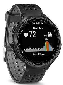 SPORTWATCH GARMIN FORERUNNER 235 HRM BLACK/GREY