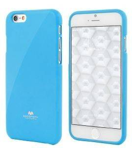 ΘΗΚΗ TPU GOOSPERY APPLE IPHONE 6 JELLY SERIES LIGHT BLUE