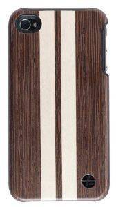 ΘΗΚΗ TREXTA APPLE IPHONE 5 WOOD WENGE BROWN