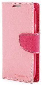 ΘΗΚΗ LEATHER FLIP FANCY DIARY GOOSPERY APPLE IPHONE 6 PLUS PINK -FUCHSIA