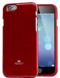ΘΗΚΗ TPU GOOSPERY APPLE IPHONE 6 PLUS JELLY SERIES -RED