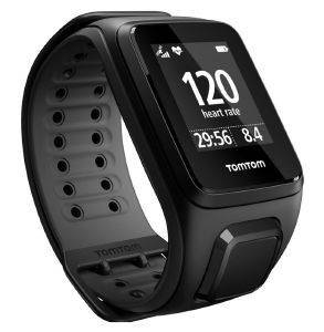 TOMTOM RUNNER 2 CARDIO + MUSIC BLACK/ANTHRACITE - LARGE