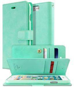 MERCURY GOOSPERY MANSOOR LEATHER DIARY FLIP CASE APPLE IPHONE 7 MINT