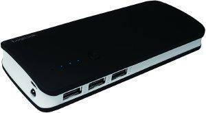 LOGILINK PA0145 POWERBANK 10000MAH 3X USB BLACK/GREY