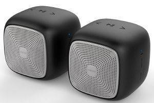 EDIFIER MP202 DUO PORTABLE BLUETOOTH SPEAKERS BLACK