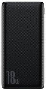 BASEUS BIPOW POWERBANK 10000MAH QUICK CHARGE 3.0 PD 18W BLACK