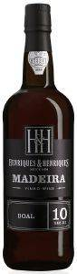 MADEIRA HENRIQUES AND HENRIQUES BUAL 10 YEARS OLD (ΗΜΙΓΛΥΚΟ) 500 ML