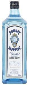 GIN BOMBAY SAPPHIRE 700 ML κάβα gin αγγλια