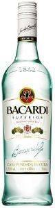 RUM BACARDI CARTA BLANCA 700 ML