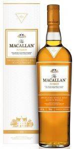 ΟΥΙΣΚΙ MACALLAN AMBER 700 ML κάβα single malt scotch whisky speyside