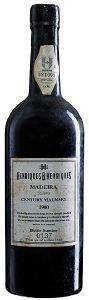 MADEIRA HENRIQUES AND HENRIQUES CENTURY MALMSEY 1900 (ΕΜΦΙΑΛΩΣΗ 1999)  HENRIQUES AND HENRIQUES 750ML