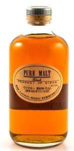 ΟΥΙΣΚΙ NIKKA PURE MALT BLACK 500 ML, 43% ABV