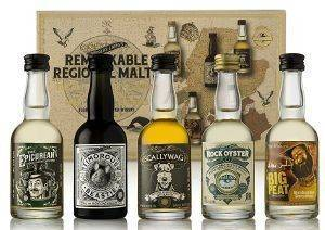 ΣΕΤ ΟΥΙΣΚΙ REMARKABLE REGIONAL MALTS MINIATURE GIFT PACK 5 X 50 ML