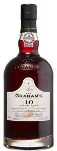 PORT 10 Y.O W&J GRAHAM'S 750ML