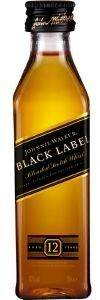 ΟΥΙΣΚΙ JOHNNIE WALKER BLACK LABEL 12 ΕΤΩΝ (PET) 50 ML