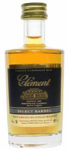 RUM CLEMENT SELECT BARREL AGRICOLE 50ML