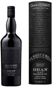 ΟΥΙΣΚΙ GAME OF THRONES OBAN BAY RESERVE - THE NIGHT'S WATCH 700 ML