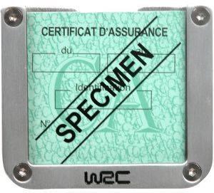 ΤΕΤΡΑΓΩΝΗ ΘΗΚΗ ΓΙΑ ΑΣΦΑΛΕΙΑ WRC Θήκη με προφίλ αλουμινίου για το ασφαλιστήριο σε σχήμα τετράγωνο  Τοποθετείτε αυτοκόλλητο στο εσωτερικό του παρ μπριζ Το WRC τελείωμα δίνει μια πρωτότ