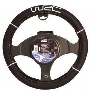 WRC ΚΑΛΥΜΜΑ ΤΙΜΟΝΙΟΥ ΑΠΟ ΝΕΟΠΡΕΝΙΟ  Aνετο τελείωμα τιμονιού με ασημένιο κέντημα και ένα μικρό ράψιμο πάνω Νέα αίσθηση οδήγησης αυτό το κάλυμμα από νεοπρένιο που προστατεύει κρύο χειμώνα