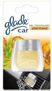 ΑΠΟΣΜΗΤΙΚΟ ΑΥΤ ΤΟΥ AEΡΑΓΩΓΟΥ GLADE GEL AMBER  WOOD 01742 Δώστε μια αίσθηση  φρεσκάδας στο εσωτερικό του αυτοκινήτου σας με τη νέα τεχνολογία Gel από την Glade Τα αποσμητικά αυτή διαρκούν περισσότερο τα κοινα