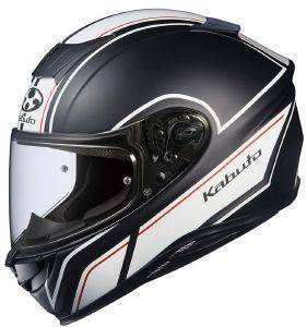 ΚΡΑΝΟΣ KABUTO AEROBLADE-5 SMART FLAT BLACK WHITE