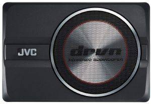JVC CW-DRA8 DRVN 20CM COMPACT POWERED SUBWOOFER MAX POWER 250W/RMS POWER 150W