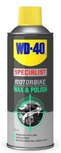 ΓΥΑΛΙΣΜΑ ΚΑΙ ΚΕΡΩΜΑ WD-40 SPECIALIST MOTORBIKE WAX & POLISH 400ML