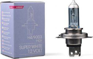 H4 12V 60/55W P43T-38 COLOR SUPERWHITE 1ΤΕΜ. M-TECH