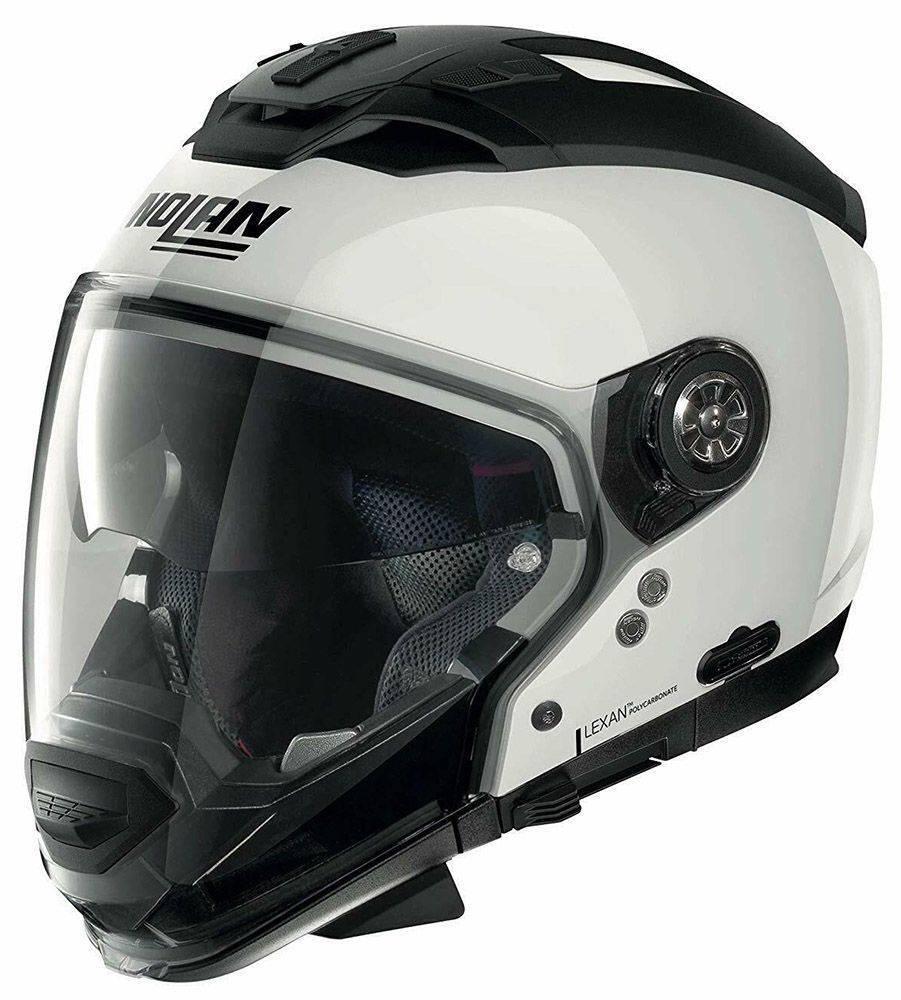ΚΡΑΝΟΣ NOLAN N70-2 GT SPECIAL N-COM 15 PURE WHITE-M