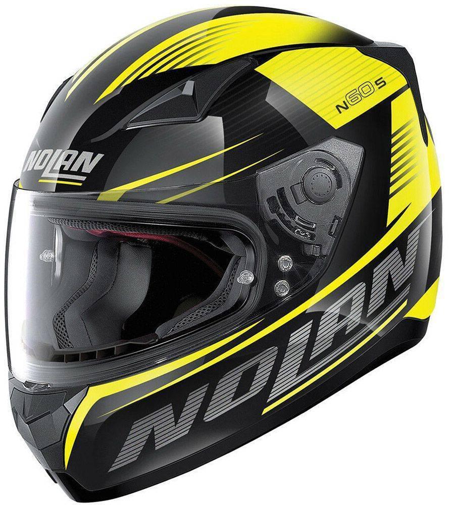 ΚΡΑΝΟΣ NOLAN N60.5 MOTRICO 45 GLOSSY BLACK-XS