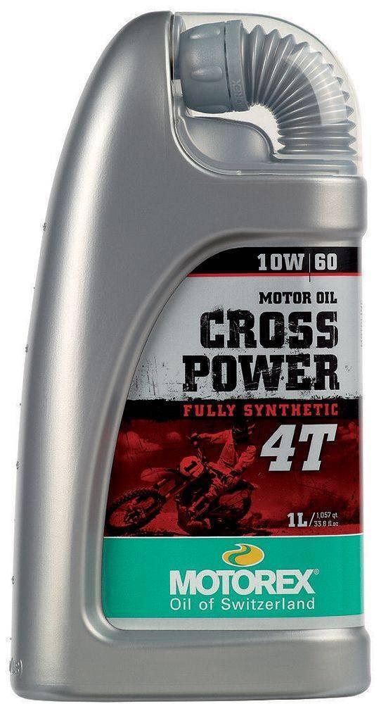 ΛΑΔΙ MOTOREX CROSS POWER 10W60 ΣΥΝΘΕΤΙΚΟ OFF ROAD 1L.