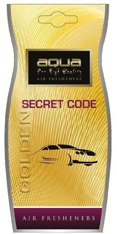 ΑΡΩΜΑΤΙΚΟ AQUA SECRET CODE GOLDEN 00-010-059