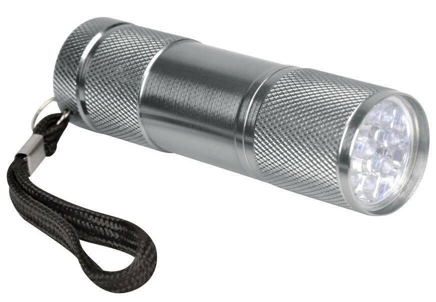 ΦΑΚΟΣ LAMPA TOURING 9 LED - 1200 MCD - 90 Χ 26 MM (ΑΔΙΑΒΡΟΧΟΣ/ΑΛΟΥΜΙΝΙΟΥ) - 1ΤΕΜ.
