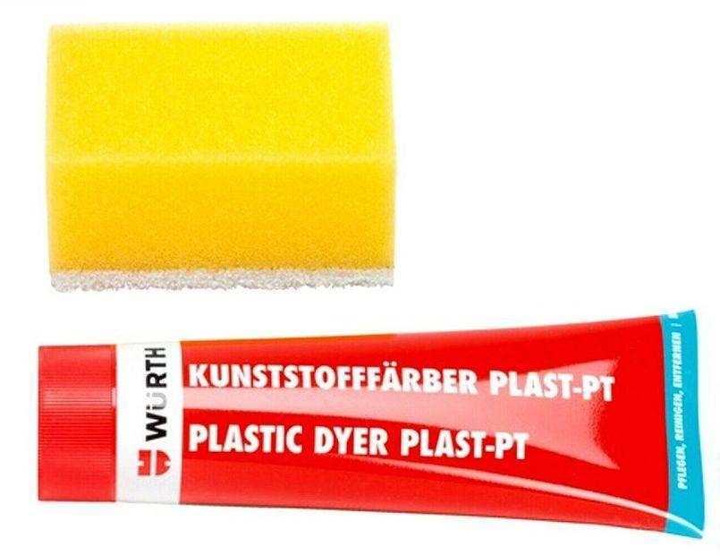 ΠΛΑΣΤΙΚΗ ΧΡΩΣΤΙΚΗ ΥΛΗ WURTH PLAST-PT ΜΑΥΡΗ 75ML (08932801)