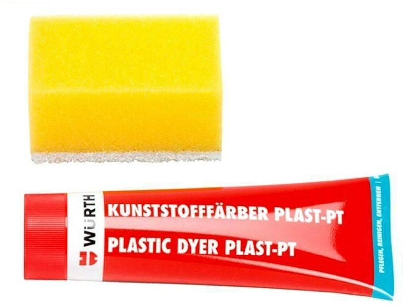 ΠΛΑΣΤΙΚΗ ΧΡΩΣΤΙΚΗ ΥΛΗ WURTH PLAST-PT ΑΝΘΡΑΚΙ 75ML (08932802)