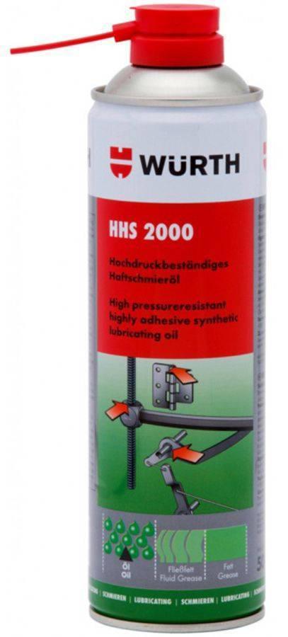 ΗΜΙΣΥΝΘΕΤΙΚΟ ΛΙΠΑΝΤΙΚΟ WURTH HHS 2000 500ML (0893106)