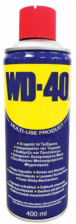ΑΝΤΙΣΚΩΡΙΑΚΟ - ΛΙΠΑΝΤΙΚΟ ΣΠΡΕΙ  WD-40  MULTI-USE PRODUCT 400ML