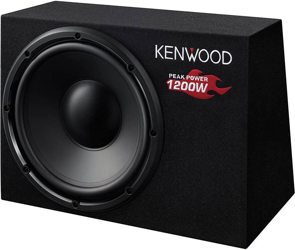 KENWOOD KSC-W1200B 12'/ 30CM 1200W/300W RMS BOX-TYPE PASSIVE SUBWOOFER