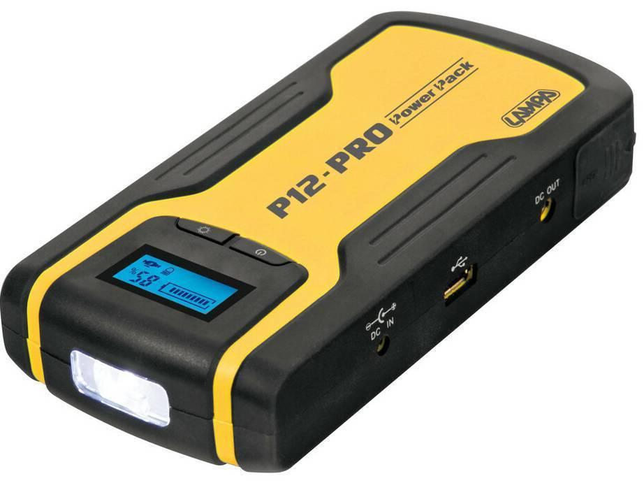 ΣΤΑΡΤΕΡ ΕΚΚΙΝΗΤΗΣ LAMPA P12-PRO 12V/230V 12AH 400A POWER PACK| (70162)