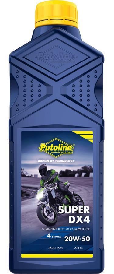 ΛΙΠΑΝΤΙΚΟ MOTO PUTOLINE DX-4 SEMISYNT 20W50 1L 70184