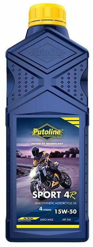 ΛΙΠΑΝΤΙΚΟ MOTO PUTOLINE SPORT-4R SEMISYNT+ 15W50 1L 74392