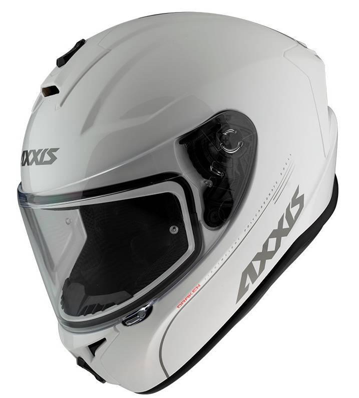 ΚΡΑΝΟΣ AXXIS DRAKEN SOLID V.2 AO10 WHITE PEARL (XL)