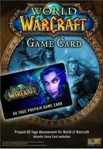 WORLD OF WARCRAFT : GAME CARD ηλεκτρονικά παιχνίδια κονσολεσ   περιφερειακα prepaid game cards