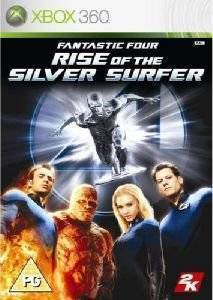 FANTASTIC FOUR : RISE OF THE SILVER SURFER - XBOX 360