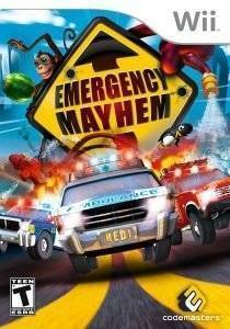 EMERGENCY MAYHEM - WII ηλεκτρονικά παιχνίδια wii games action adventure