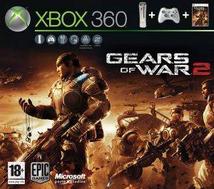 XBOX360 - PRO 60 GB & GEARS OF WAR 2